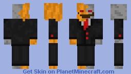 Halloween - Pumpkin/Skeleton Minecraft Skin