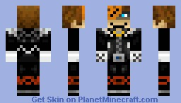 Halloween Town Sora (V1.1) Minecraft Skin