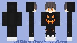 Hallowen time🎃 Minecraft Skin