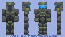 HALO (recruit) Minecraft Skin