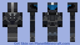 Halo Orbital Drop Shock Trooper [ODST] version 4 Minecraft Skin