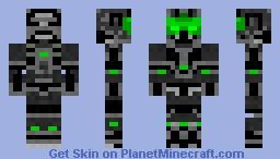 Halo Green Suit Minecraft Skin