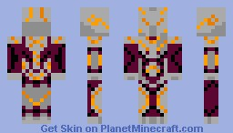 Halo 4 - The Didact Minecraft Skin