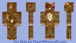 Zombie Hamster Minecraft Skin