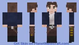 Han Solo | Captain Minecraft Skin