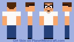 Hank hill Minecraft Skin