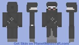 Hank J. Wimbleton (Madness Combat) Minecraft Skin