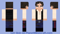Han Solo - A New Hope Remake Minecraft Skin