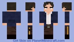 Han Solo - Empire Strikes Back Remake Minecraft Skin