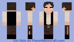 Han Solo - Return Of The Jedi Minecraft Skin