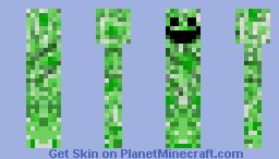 Happy Creeper Minecraft Skin