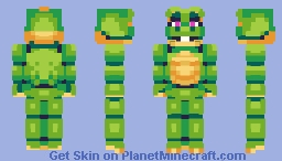 Happy Frog - FNaF: Pizzeria Simulator Minecraft Skin