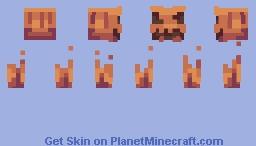 Halloween costume for skin. Minecraft Skin