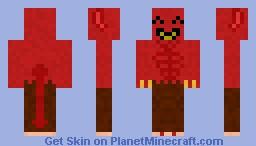 happy demon Minecraft Skin