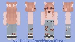 Peachy Keen Minecraft Skin