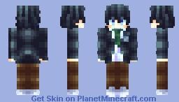 🐬七瀬遥   𝐻𝒶𝓇𝓊𝓀𝒶 𝒩𝒶𝓃𝒶𝓈𝑒🐬 [𝔽𝕣𝕖𝕖!! +𝔸𝕝𝕥 𝕍𝕖𝕣] Minecraft Skin