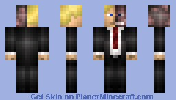 Two-Face Minecraft Skin