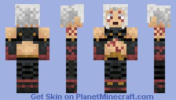 Haseo .hack//g.u. Minecraft Skin
