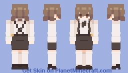 hatoba tsugu w/o hat / kke Minecraft Skin