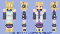 Hatsune Miko Minecraft Skin