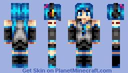 Hatsune Miku Minecraft Skin