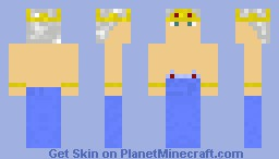 The king of the sea Minecraft Skin