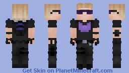 Hawkeye - Clint Barton Minecraft Skin