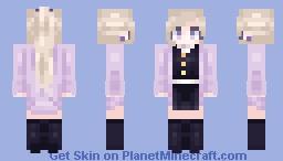𝓁𝓊𝓃𝒶𝒸𝒽𝓊𝓊 ~ Hayami Sumiyuri (Demon Slayer OC) Minecraft Skin