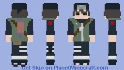 Hayate Gekko [Edo Tensei] [4th Shinobi World War] [Shippuden] Minecraft Skin