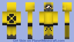 Hazmat suit (apocalypse skin series) Minecraft Skin