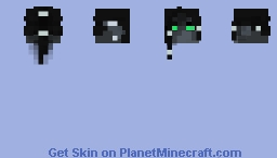 Dark elf head Minecraft Skin