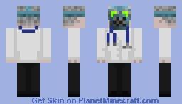 Head Engineer - Villain Minecraft Skin