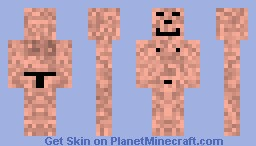 Funny Naked Skin! Minecraft Skin