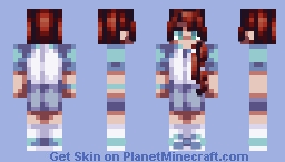 Heart Warming Minecraft Skin