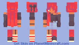 ℒℰΔ ☪ Heat Minecraft Skin