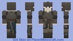 Trash Knight Minecraft Skin