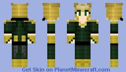 Hela Lokidottir, Re-shaded, 1.8 Format!! Minecraft Skin