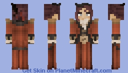 [LOTC] Red Holy Dame Minecraft Skin