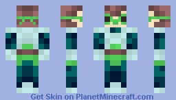 Helix - The Sci-Fi Hero [Contest :3] Minecraft Skin
