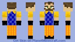 Neighbor (Halloween skin 9) Minecraft Skin