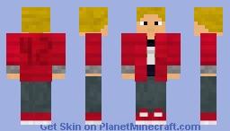 henrique's skin (without the false third eye) Minecraft Skin