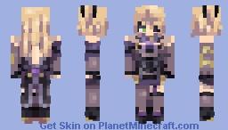 Fischl (Genshin Impact) Minecraft Skin