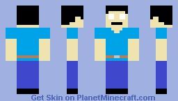 Qu Yumiyacha texture HEROBRINE Minecraft Skin