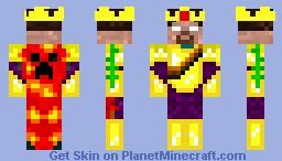 royal herobrine Minecraft Skin