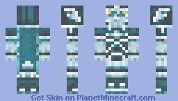 Hero of the Past (Ghost) Minecraft Skin