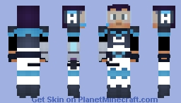 High Five (Glitch Techs) Minecraft Skin
