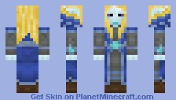 High Elf Minecraft Skin