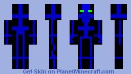 The Techno Skin Minecraft Skin