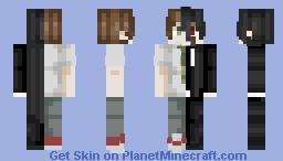 Hajime Hinata / Izuru Kamukura -{ Danganronpa }- Minecraft Skin