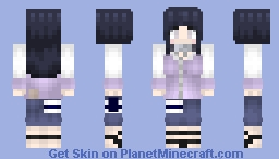 Hinata Hyūga (日向ヒナタ): Shippuden Minecraft Skin